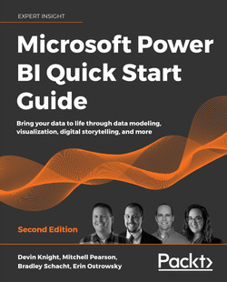 Microsoft Power BI Quick Start Guide - Second Edition