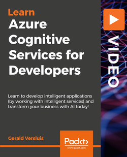 Azure Cognitive Services for Developers