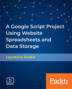 A Google Script Project Using Website Spreadsheets and Data Storage