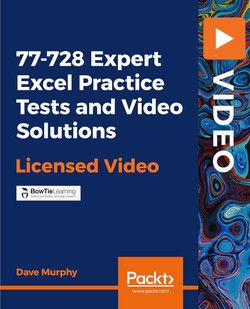 77-728 Expert Excel Practice Tests and Video Solutions