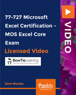 77-727 Microsoft Excel Certification - MOS Excel Core Exam