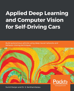 Applied Deep Learning and Computer Vision for Self-Driving Cars