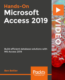 Hands-On Microsoft Access 2019