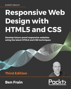 Responsive Web Design with HTML5 and CSS - Third Edition