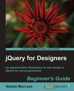 jQuery for Designers Beginner's Guide