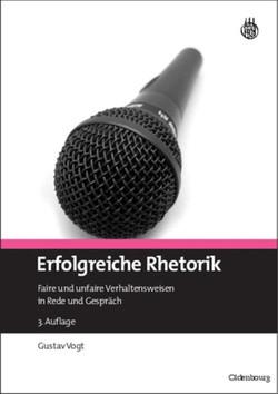 Erfolgreiche Rhetorik, 3rd Edition