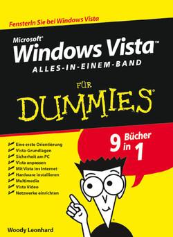Microsoft® Windows Vista™ für Dummies®: Alles in Einem Band