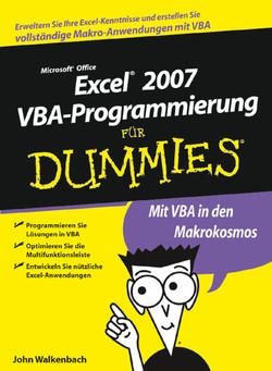 Microsoft Office Excel® 2007 VBA-Programmierung für Dummies®