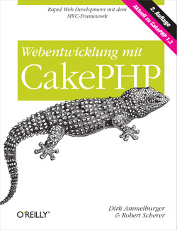 Webentwicklung mit CakePHP, 2nd Edition