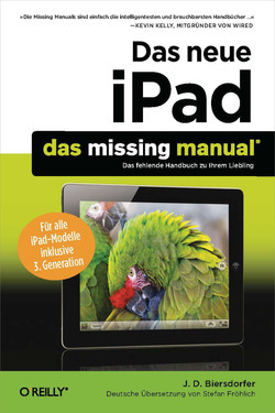 Das neue iPad: Das Missing Manual, 4th Edition