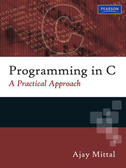 Programming in C: A Practical Approach, First Edition
