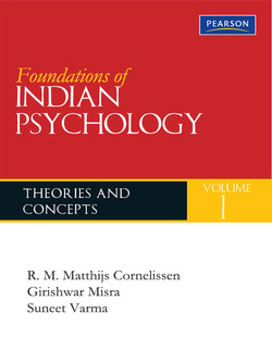 Foundations of Indian Psychology, Volume 1