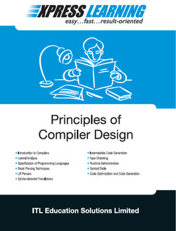 Express Learning: Principles of Compiler Design