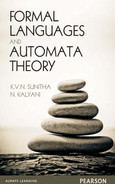 book cover: Formal languages and automata theory